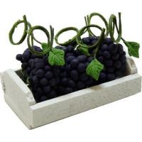 Buy cheap Purple Grapes in Whitewashed Crate BDBW009 product