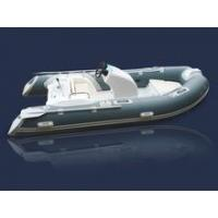 Buy cheap 13ft CE and fiberglass hull center console fishing boat for sale product