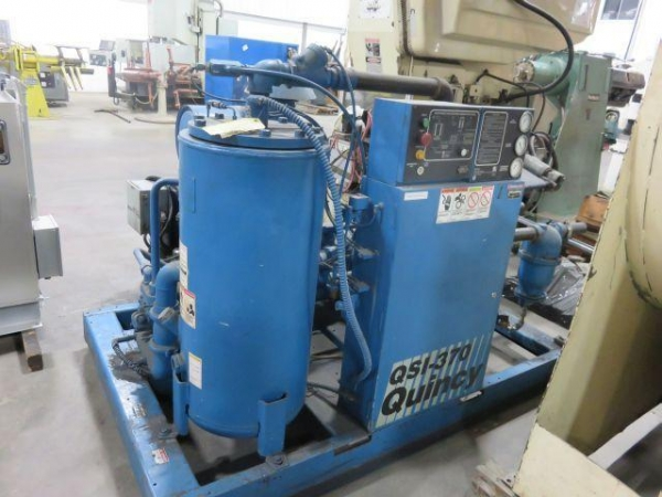Quality QUINCY 75 HP ROTARY SCREW AIR COMPRESSOR, STOCK# 11797T for sale