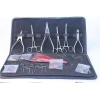 Buy cheap Piercing Supplies 8pc-Stainless Steel Piercing Tool Kit product