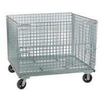 Wire Container with Casters Wire Container with Casters Improve Logistics Efficiency