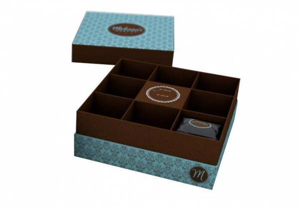 High end cookie gift boxes of huahengpack for High end client gifts