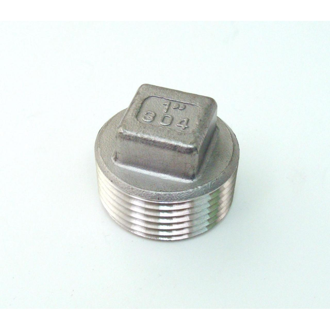Buy cheap Stainless Steel Screwed Fitting Square Plug from Wholesalers