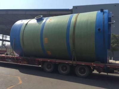 Quality Integral prefabricated pumping station for sale