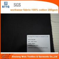 Buy cheap 280gsm 100% Cotton Workwear Fabric from wholesalers