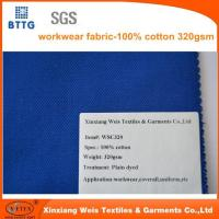 Buy cheap 320gsm 100% Cotton Overall Fabric from wholesalers