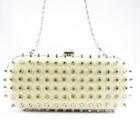 Buy cheap PU Clutch Bags Stylish women pu rivet pu clutch bag from wholesalers