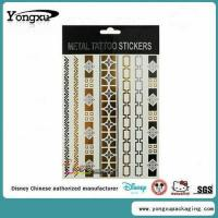 Buy cheap Waterproof Flash Gold Temporary Tattoo Wholesale(ET1-1) product