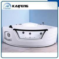 Buy cheap One Person Corner Whirpool Bathtub from Wholesalers