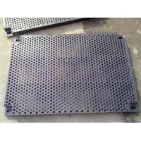 Buy cheap Monel Round Hole Perforated Screen /punched Metal Mesh from wholesalers