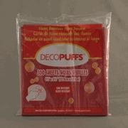 "Buy cheap Scarlet Decopuffs 5.5"" x 5.5"" (22) Left in stock AA5 product"