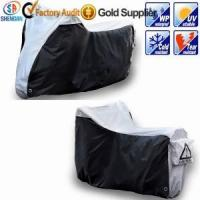 Buy cheap 210D silver waterproof motorcycle cover product
