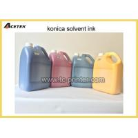 Buy cheap Mild Oil Based Tinta Konica Solvent Printing Ink product