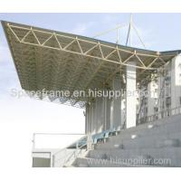 Prefab space frame steel roofing for metal playground shed Admin Edit