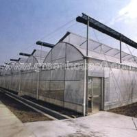 Buy cheap Sawtooth Plastic Film Ventilation Greenhouse for Tropical Climate product