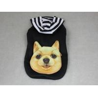 Buy cheap Cute Pet Hooded Pocket Jacket Dog Clothes Black YP003 product