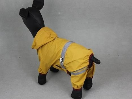 Quality Water-proof Reflective tape pet raincoat-yellow PTS-004A for sale