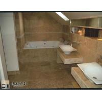 Buy cheap Coffee Brown Travertine Tiles For Wall And Floor product