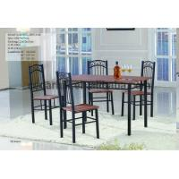 2016 restaurant or home furniture - iron frame dining table and chairs factory supply