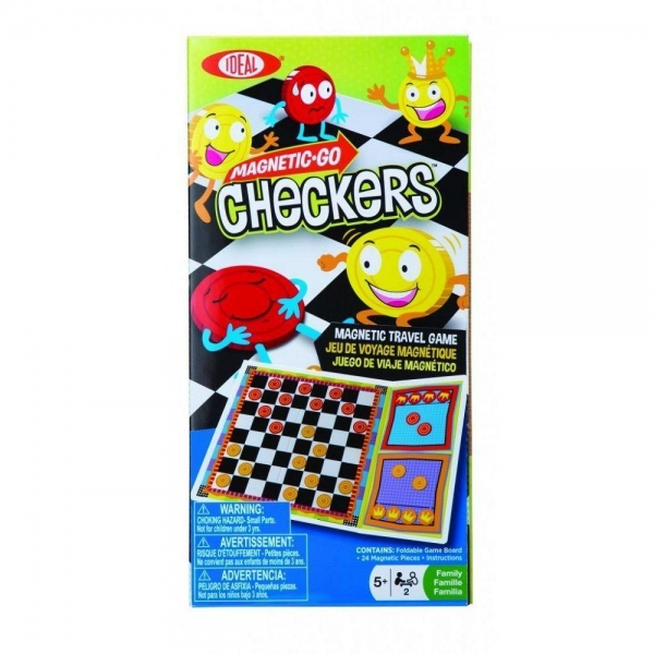 Games and Brain Teasers Magnetic Go! Checkers - 49304939