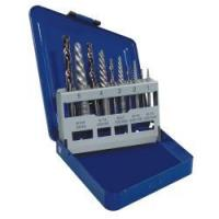 Buy cheap 10 Piece Spiral Extractor and Drill Bit Set in Metal Index 11119 from wholesalers