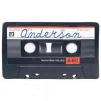 China PERSONALIZED CASSETTE TAPE DOORMAT on sale