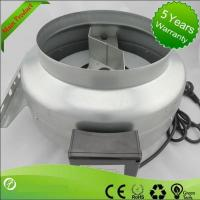 duct fan noise 6 inch hvac centrifugal inline extractor