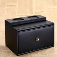 Buy cheap Hotel guest room supplies drawer box one-time toiletries box leather drawer box custom wholesale product