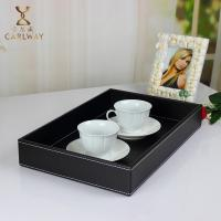 Buy cheap Upscale hotel leather tray creative tea tray leather tray manufacturer wholesale prices product