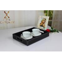 Buy cheap Leather tray beverage tray Fruit tray cortex hotel tray manufacturer wholesale prices product