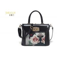 Buy cheap Silk Print Lock PU Handbag product