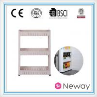Buy cheap China Supplier Plastic Household Product Kitchen Bottle Storage Rack Fridge Kitchen Plastic Rack product