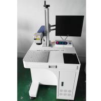 Buy cheap 10w Fiber laser marking machine from Wholesalers