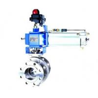 Buy cheap ZSSR-ES series pneumatic O-type cutting ball valve from Wholesalers
