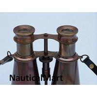 """Buy cheap Monoculars Captains Antique Copper Binoculars with Leather Case 6"""" By NauticalMart from Wholesalers"""