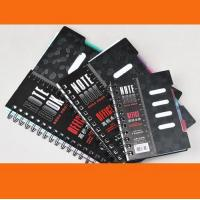 Buy cheap A4 / A5 / A6 Custom Notebook with elastic band & ribbon product