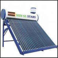Buy cheap Pre-heated copper coil solar water heater 24 tubes 240L from Wholesalers