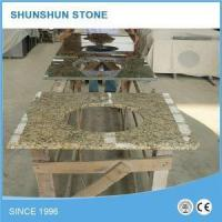 Buy cheap Natural Stone Santa Cecilia Light Granite Bathroom Vanity Top with Sink product