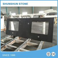 Artificial Black Quartz Stone Kitchen Counter Tops