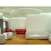 Plant Fiber Eco-friendly Material Paintable Brick Embossed 3D Wall Panels for Home Interior