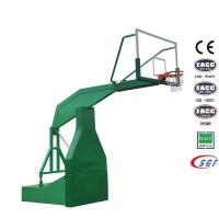 Buy cheap Good electric hydraulic basketball stand set folding basketball hoop for sale product