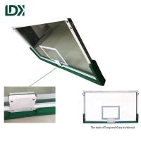 Buy cheap Outdoor basketball hoop tempered glass basketball backboard product