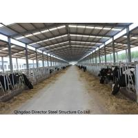 Buy cheap Prefabricated Steel Structure Cow Cattle Farm House product