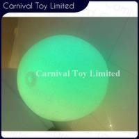Buy cheap Plush Costume New electronic product colorful plastic materia inflatable light ball product