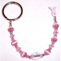 Buy cheap Awareness Bracelets Breast Cancer Awareness Key Chain from wholesalers