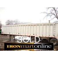 Buy cheap 2004 Ravens 42ft Frameless 78yrd End Dump Trailer used for sale from wholesalers
