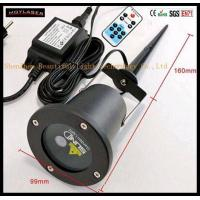 Buy cheap Outdoor Portable Red And Green Twinkle Full Star Christmas Party Laser Light product