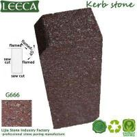 Buy cheap LEECA Red rose curb porphyry kerbstone product
