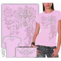 Buy cheap Ladies Fire Angel Pink T-Shirt from Wholesalers