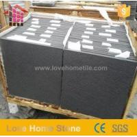 Buy cheap Modern Design Black Sawn Sandstone and Limestone Paving with Low Price product